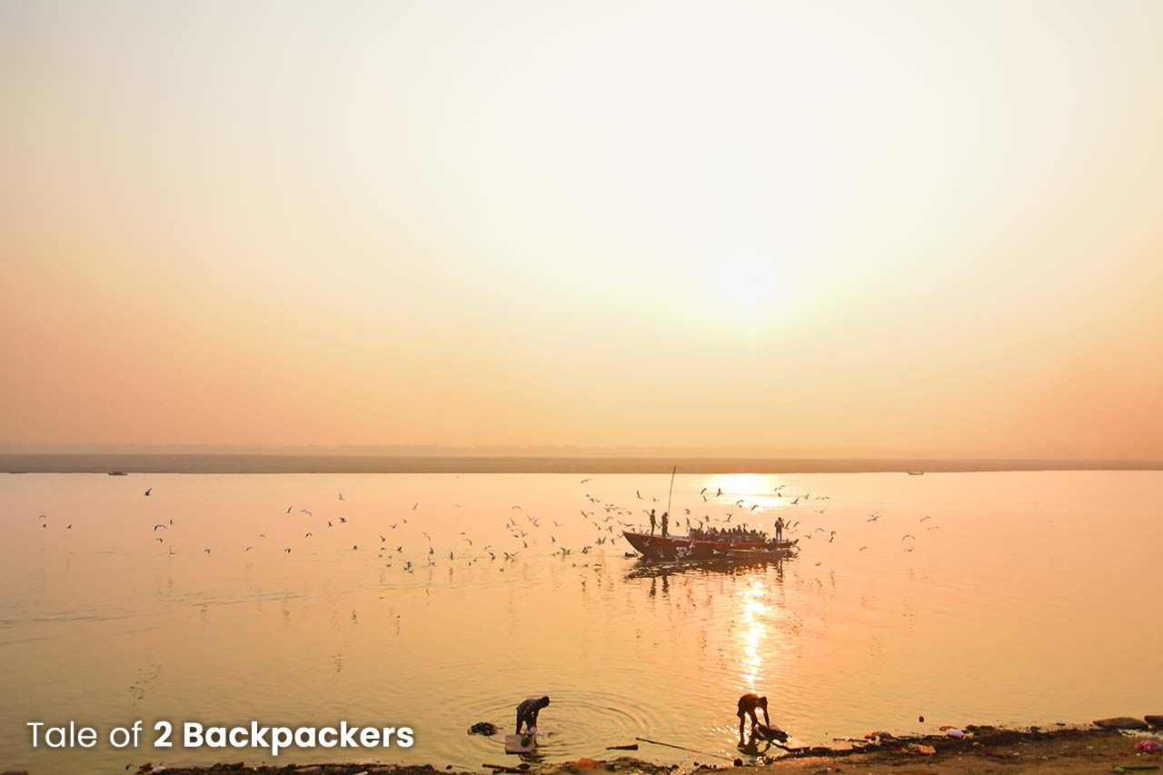 Sunrise Boat ride in Varanasi