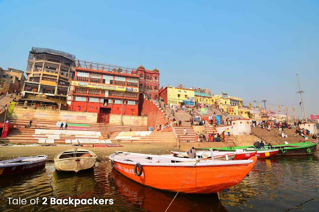 Kedar Ghat from boat ride