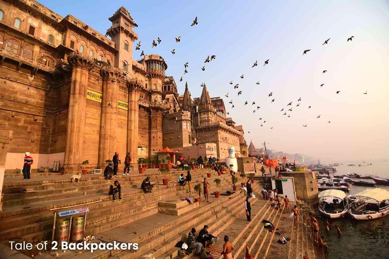 Brijrama Palace at Darbhanga Ghat Varanasi