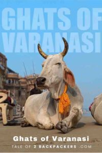 Ghats in Varanasi_Pinterest