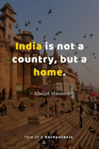 India is not a country but a home