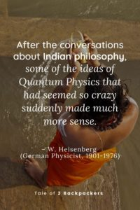 Indian philosophy and Quantum Physics - Quotes on India by W. Heisenberg