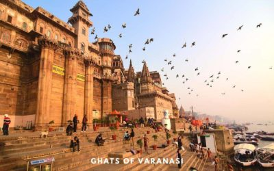Ghats in Varanasi – Where Entire Cycle of Life and Death is Played