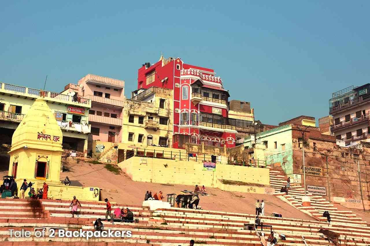 Man Sarovar Ghat Varanasi