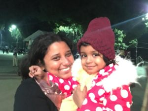 Me and my niece at Darjeeling