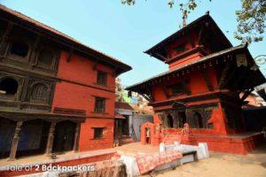 Nepali Temple at Nepali Ghat or Lalita Ghat in Varanasi