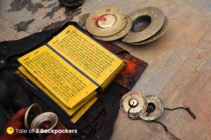 Newari Scriptures at Bhaktapur, Nepal