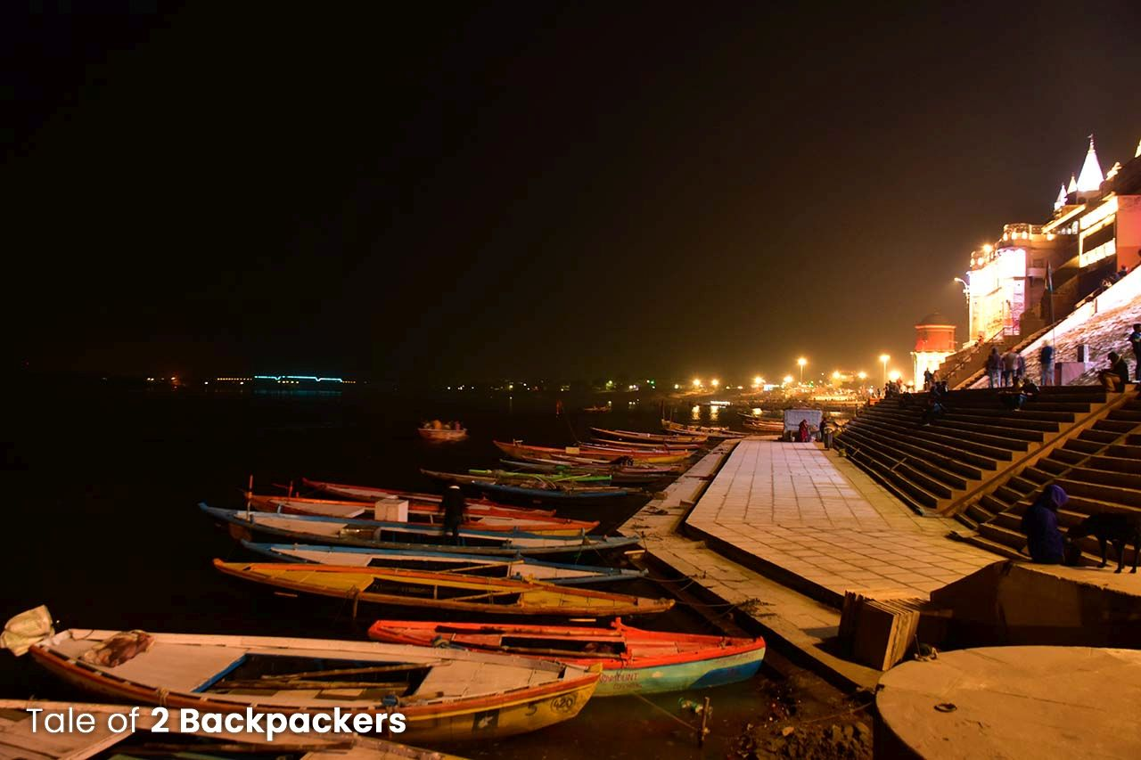 Night at the Ghats of Varanasi