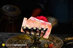Offerings at Temples in Nepal
