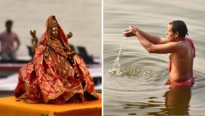 Praying the Ganga River