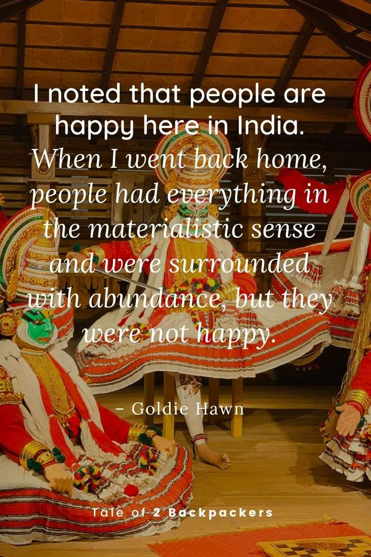 Quotes about India by Goldie Hawn