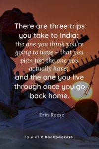Quotes on India travel