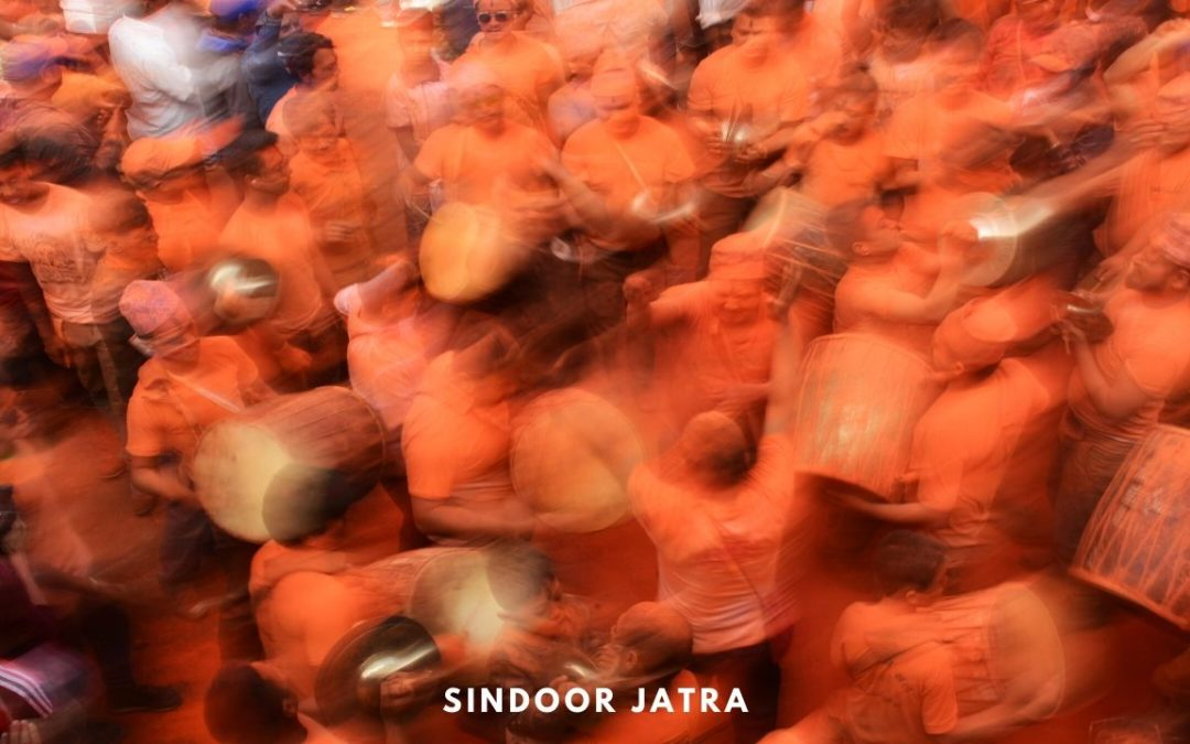 Sindoor Jatra – A Frenzy of Colours at Thimi, Nepal