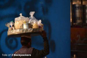 Street food at Varanasi