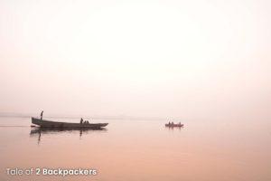 The eternally beautiful Ganga River at Varanasi