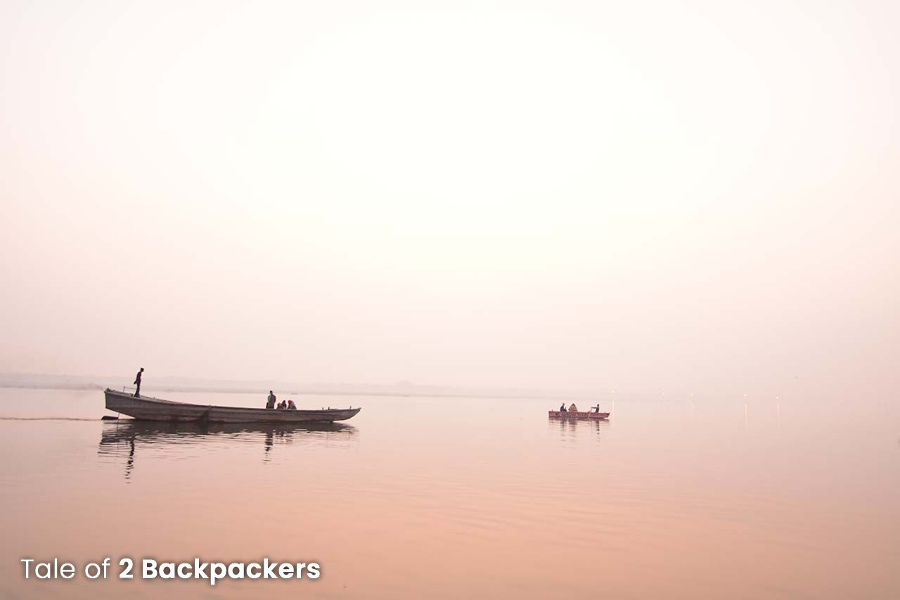 The eternally beautiful Ganga River at Varanasi