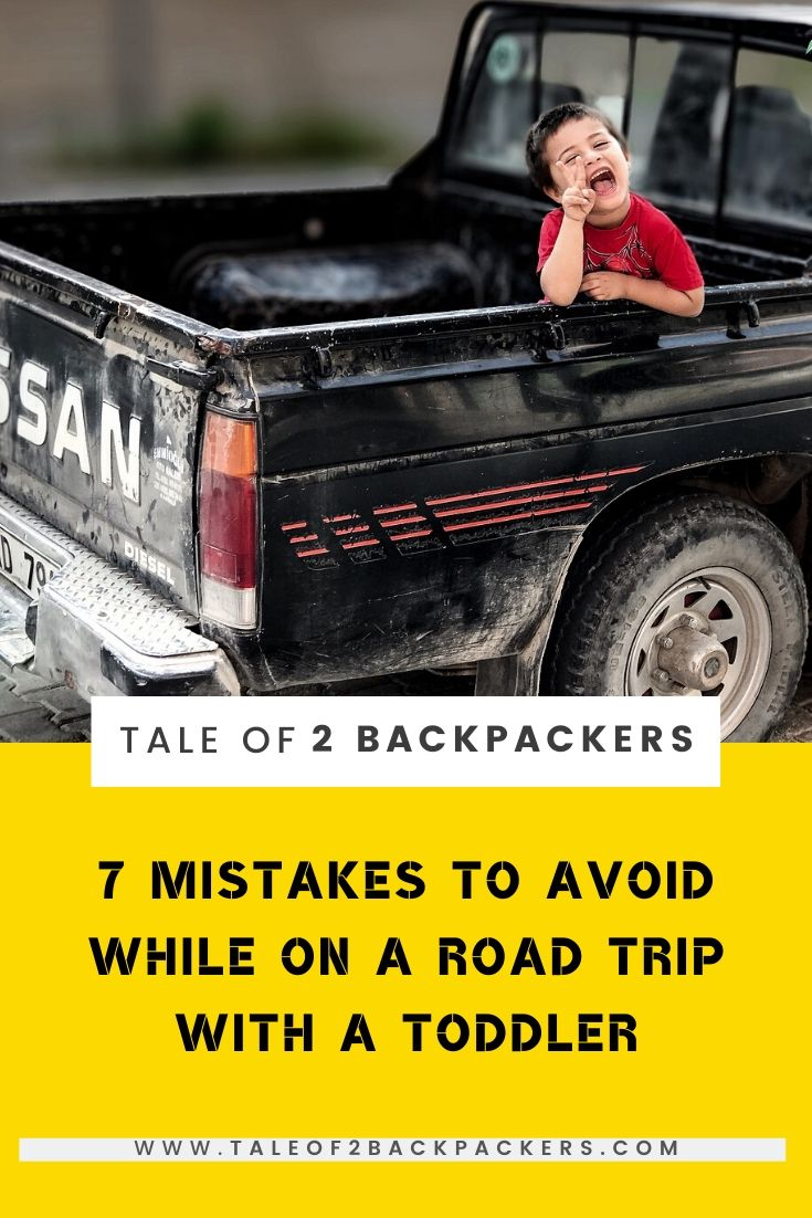 Tips on Road trip with a toddler