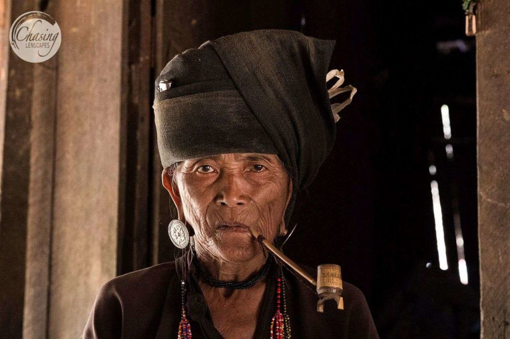 Woman of Akhu tribe of Kengtung, Myanmar - interesting cultures of Southeast Asia
