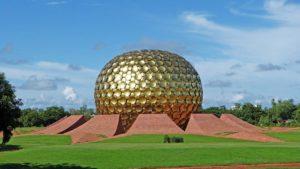 Auroville Pondicherry ecotourism destination in India