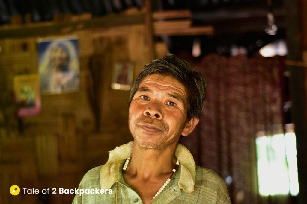 Babu Derma of Khasi community in Kongthong village