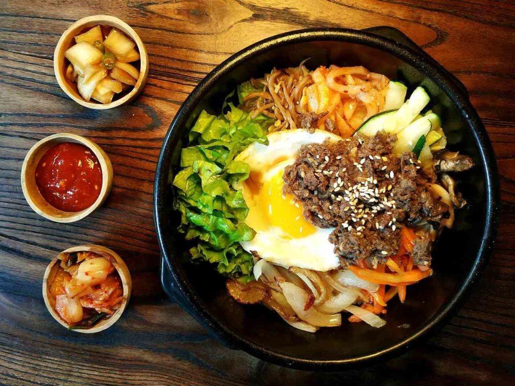 Bibimap - Korean cuisine - places to eat in Busan