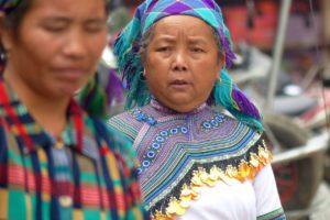 Black Hmong women from Vietnam