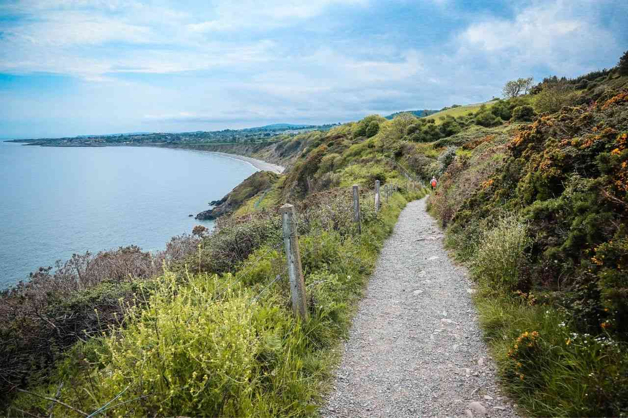 Bray Ireland Cliff Walk - unique places to visit in Europe