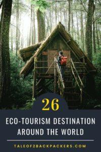 Ecofriendly travel destinations