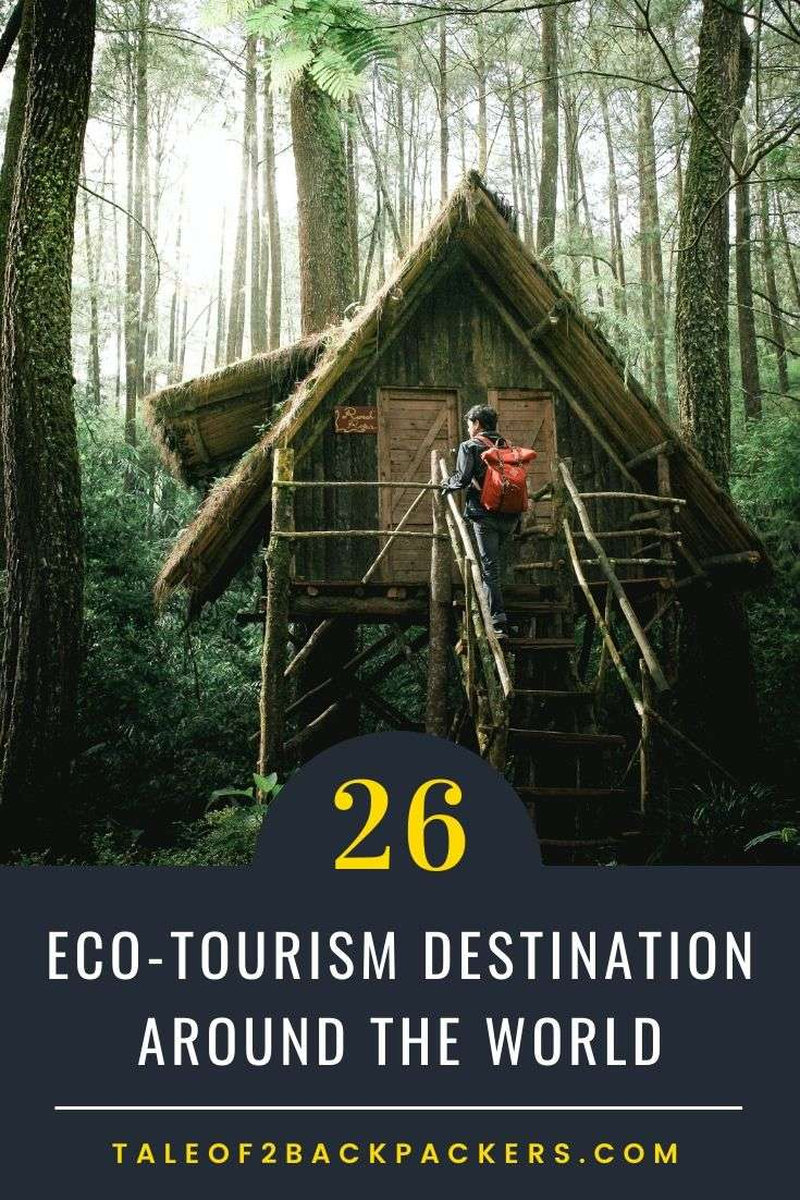 Ecofriendly travel destinations