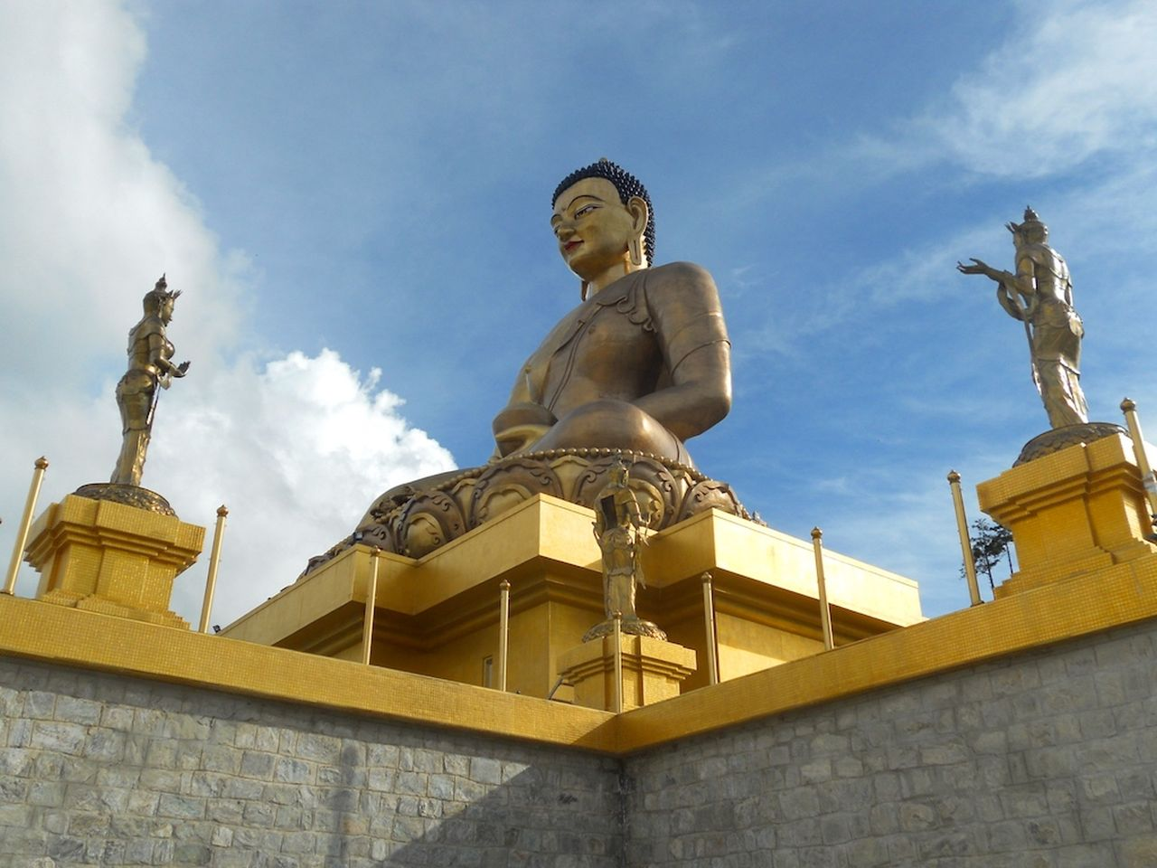 Golden Buddha at Buddha Point Thimphu - ecotourism destinations in the world