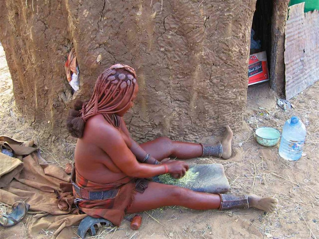 Himba women in Namibia - interesting cultures around the world