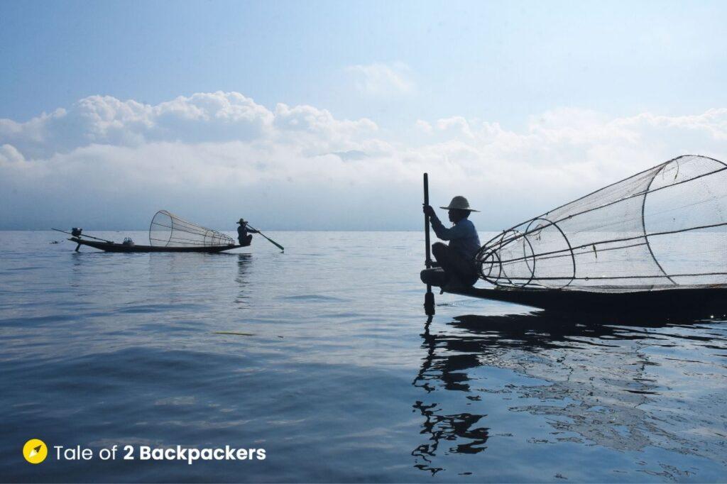 Intha fishermen of Inle Lake - things to do in Inle Lake