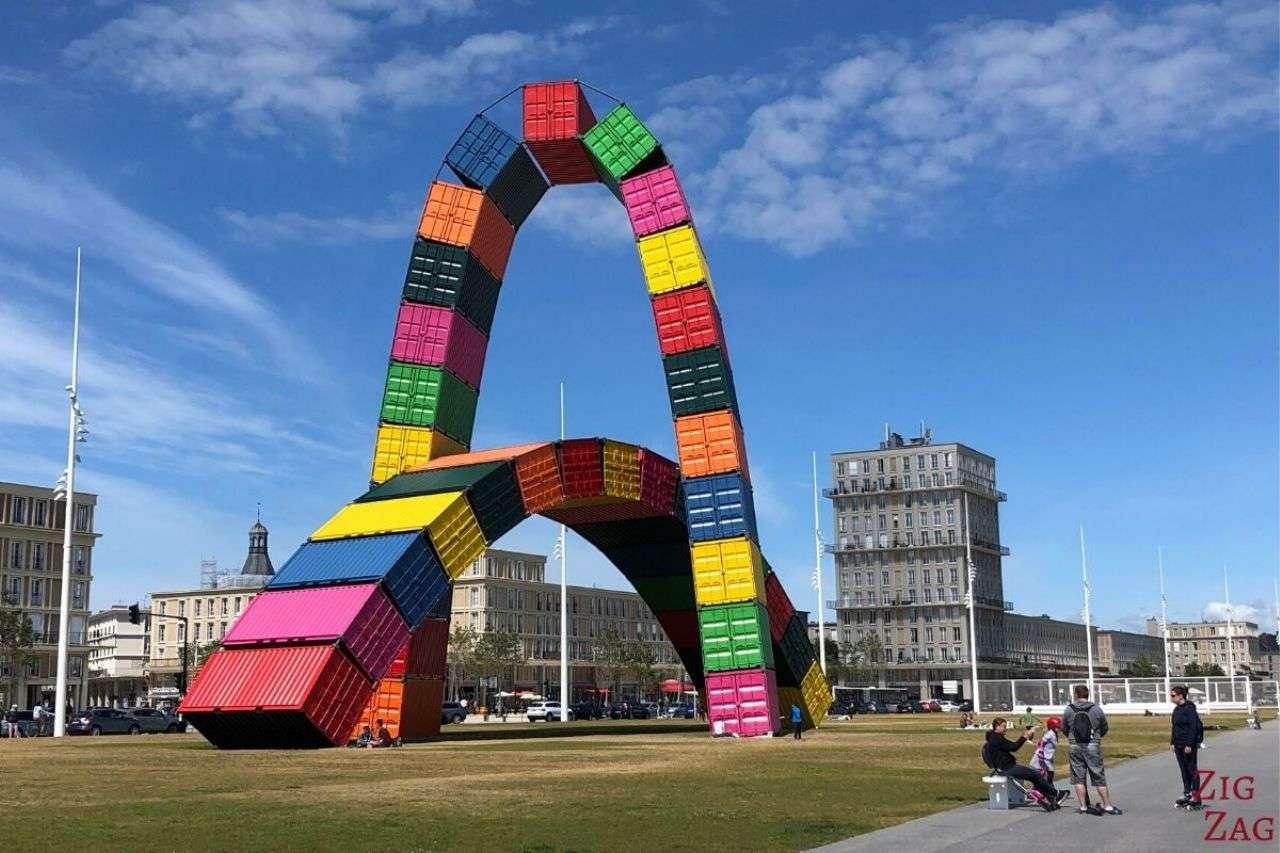 Le Havre. France - Hidden Gem of Europe