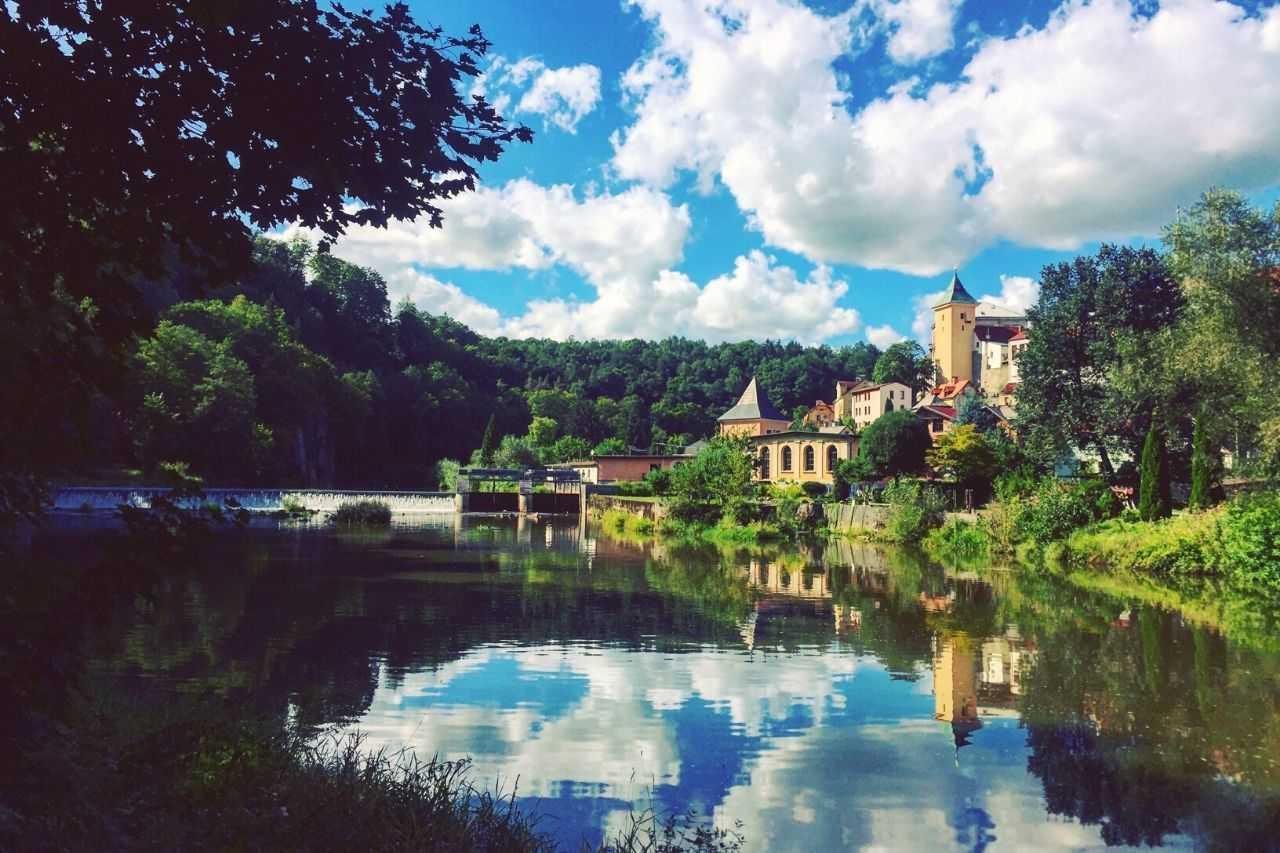 Loket Castle - unique places to visit in Europe