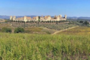 Monteriggioni Tuscany Italy