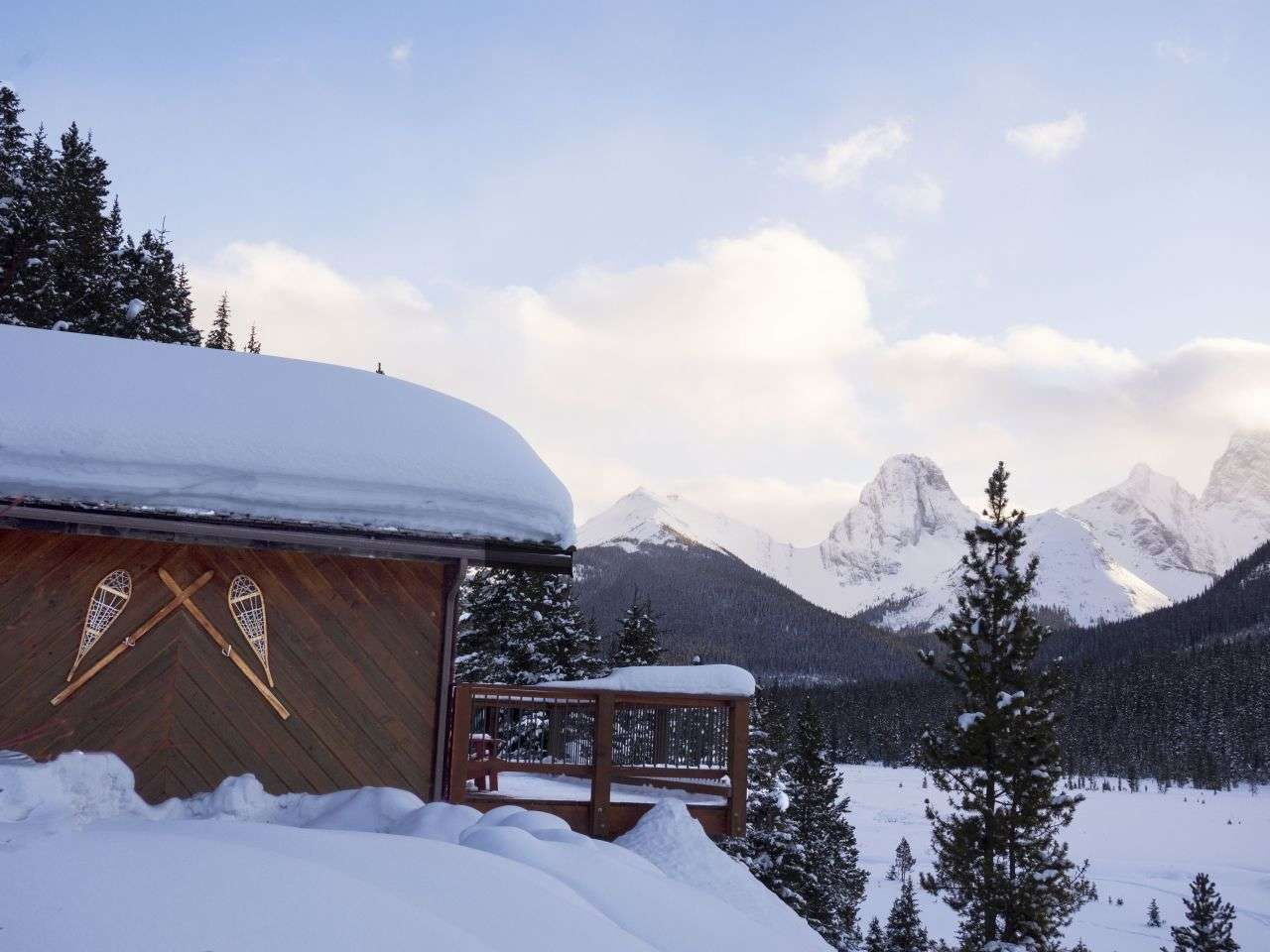 Mount Engadine Lodge, Canada - eco friendly travel destination