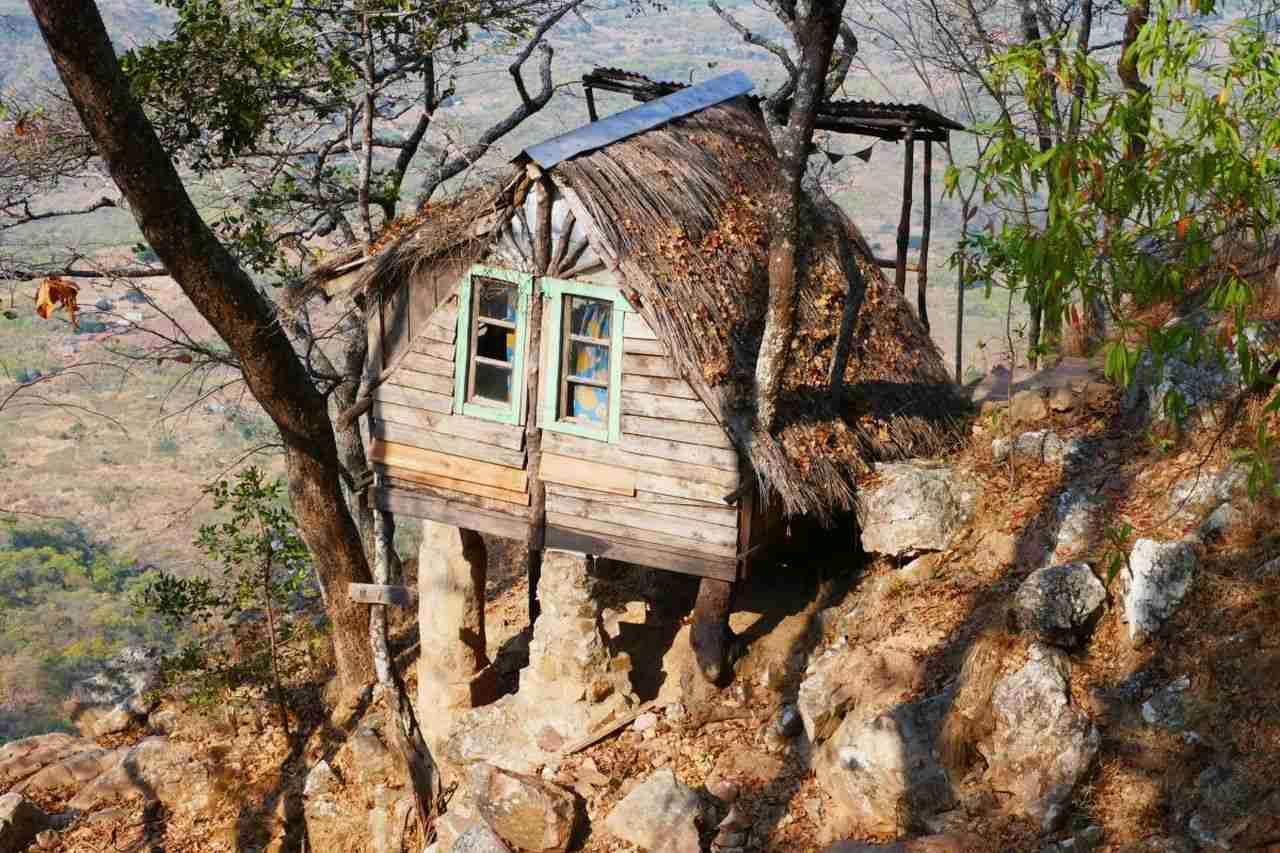 Mushroom Farm treehouse Livingstonia - eco-friendly travel destination