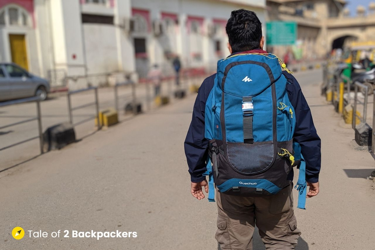Our Backpack - travel light - travel tips