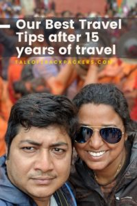 Our best travel tips after 15 years of travelling