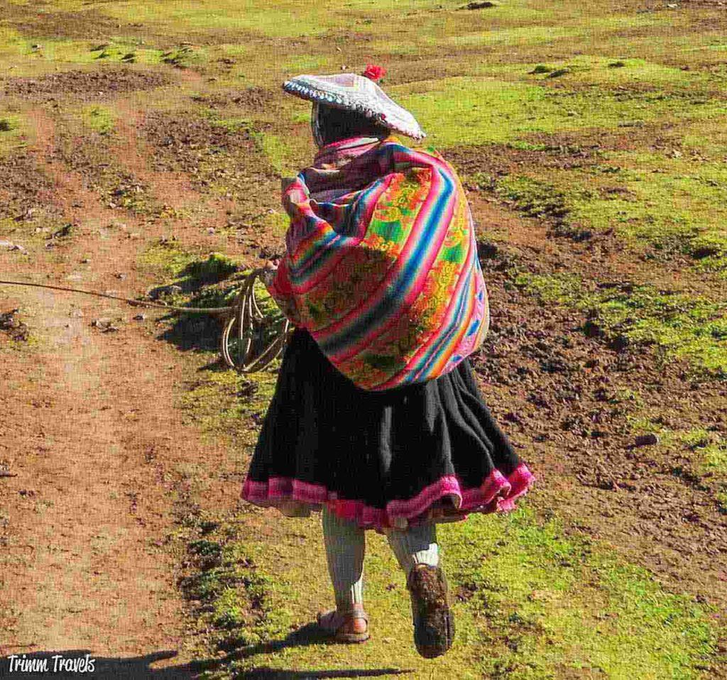 Quechua people in Peru