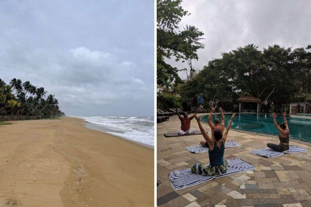 Siddhaleppa Health Resort - Wadduwa , Sri Lanka - best yoga retreats for beginners