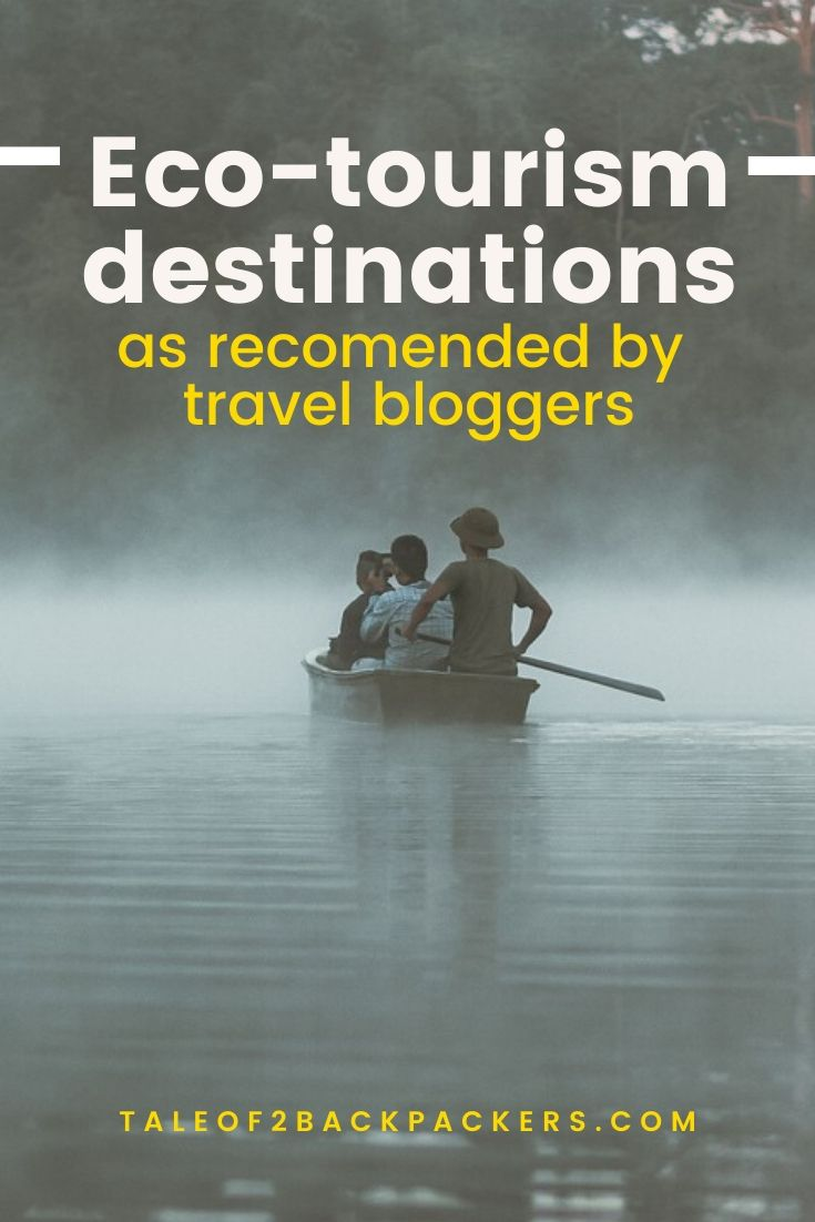 Sustainable travel destinations