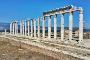 The Ancient City of Laodicea is a hidden gem near Pamukkale, Turkey