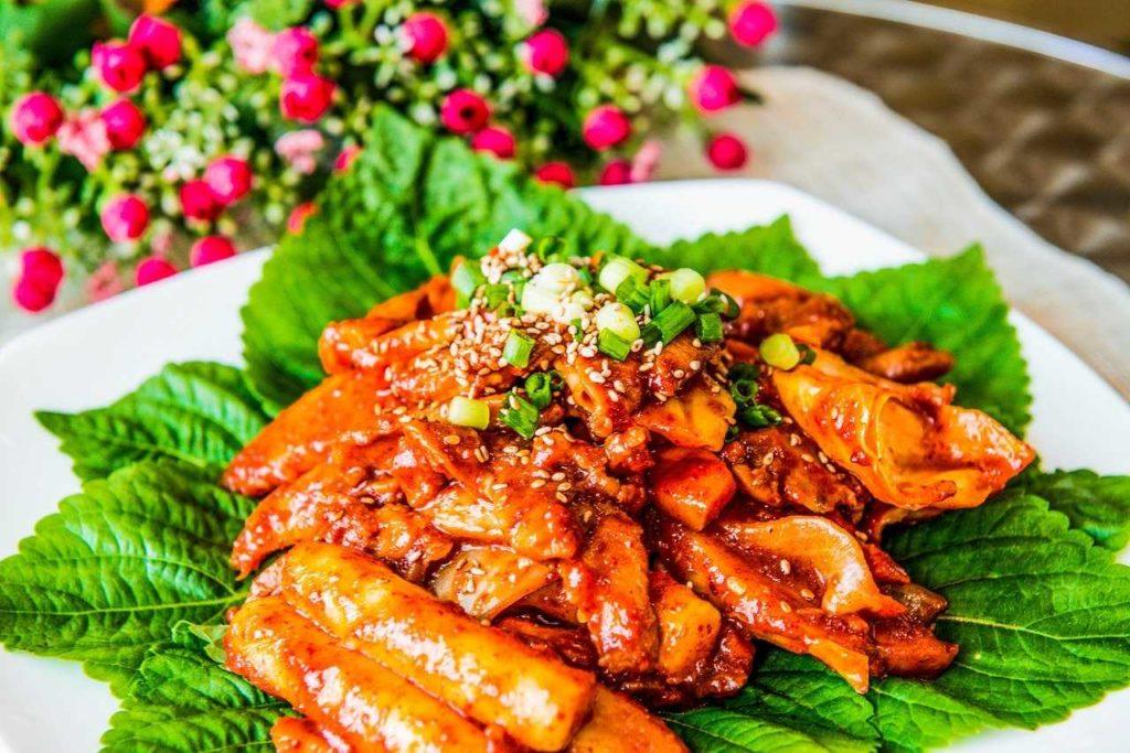 Tteokbokgi - Food in Busan - south Korean dishes