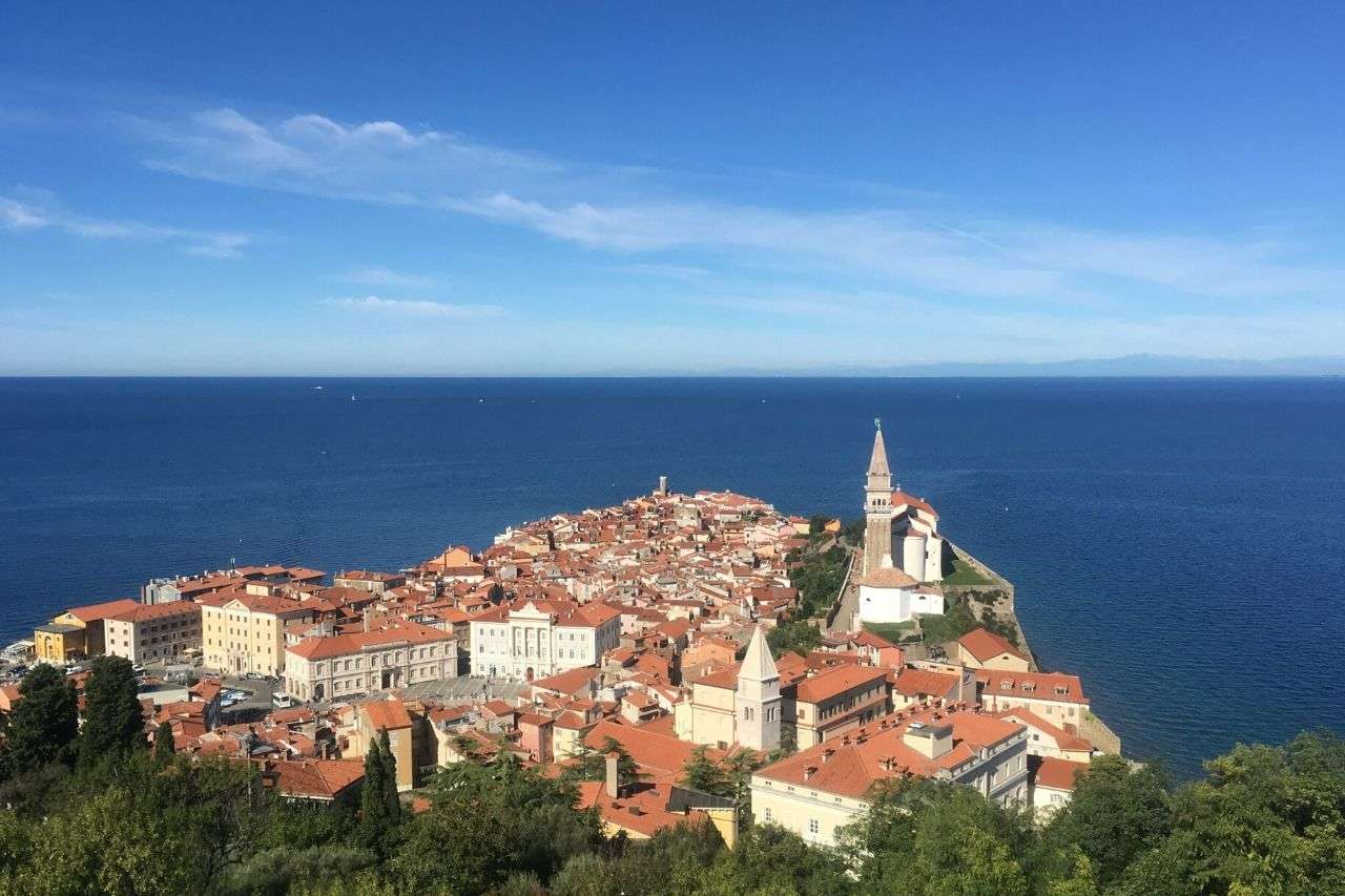 View from the Walls of Piran