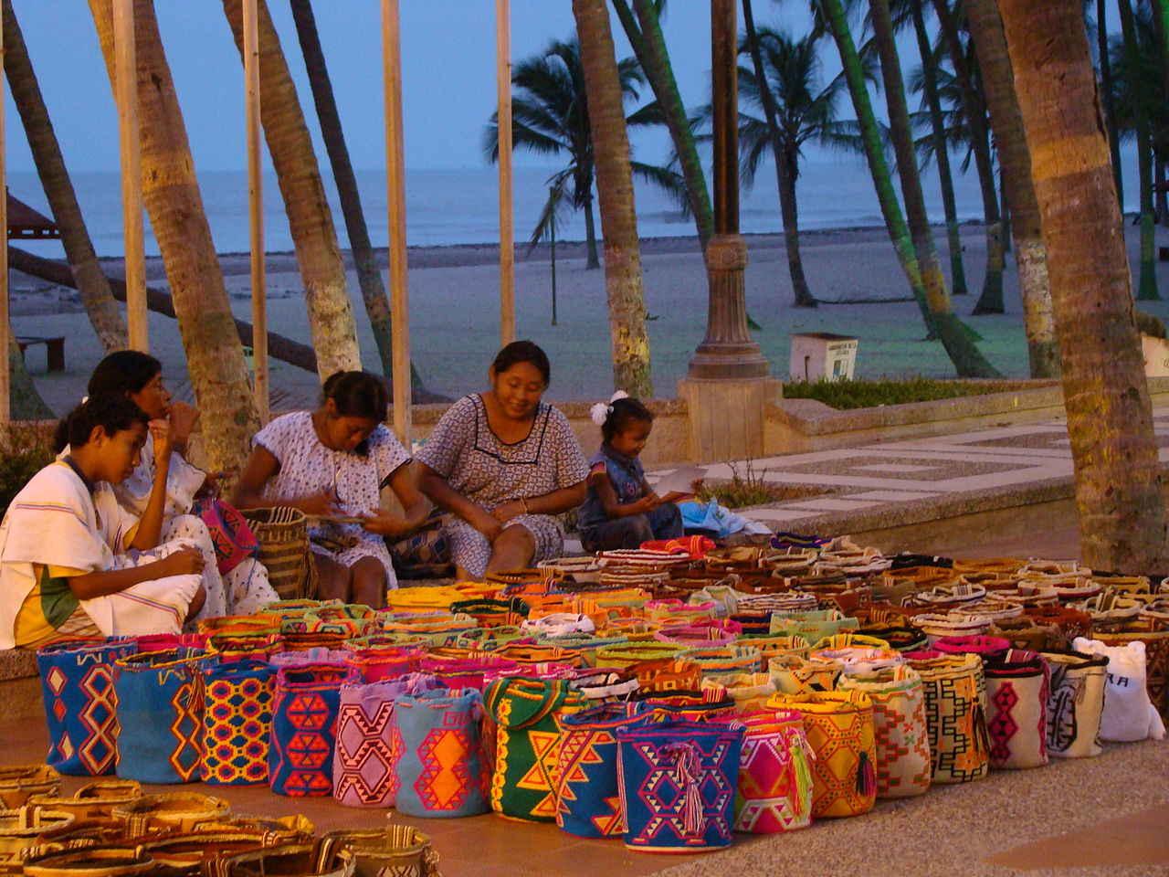 Wayuu people in Colombia South America