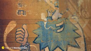 Abstract Street Art at Varanasi