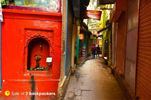 Alleys and lanes of Varanasi