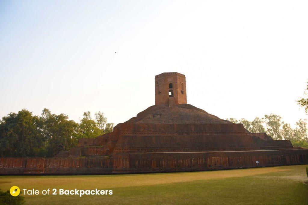 Chaukhandi Stupa at Sarnath