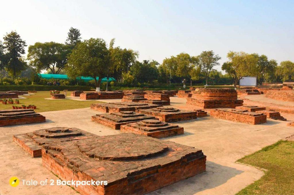 Dharmarajika Stupa at Sarnath